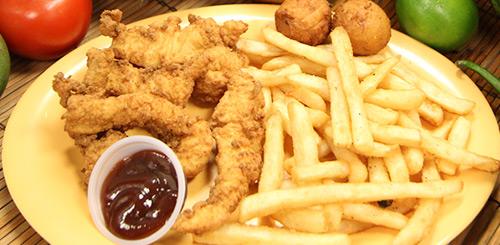 chicken tenders platter