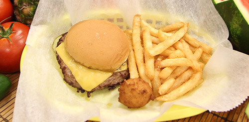 kids cheese burger