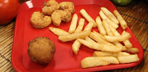 kids shrimp meal